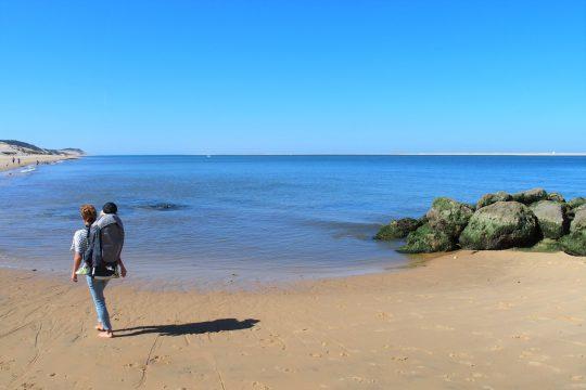 la plage de la corniche, pyla-sur-mer