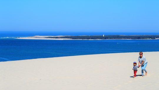 dune du pyla, tripandtwins.com