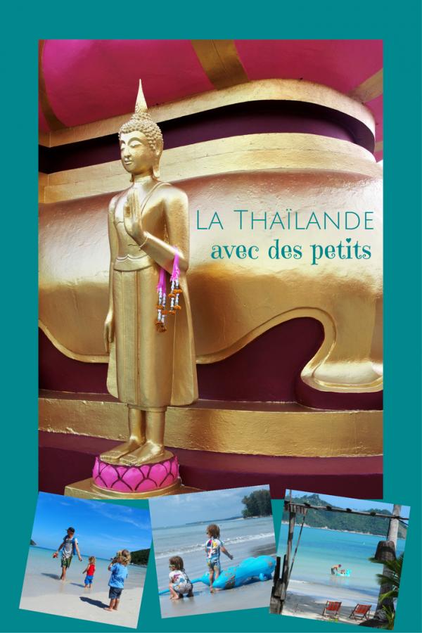 Voyager en Thaïlande avec des petits