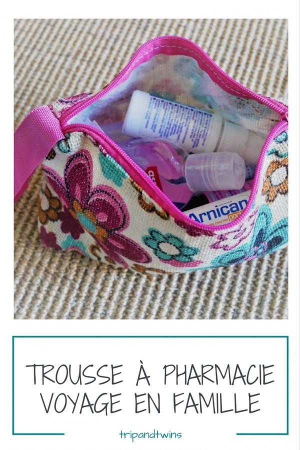 pharmacie voyage en famille
