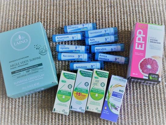 remedes naturels pharmacie voyage famille