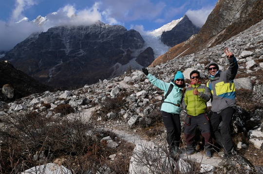 trek vallee du langtang - népal