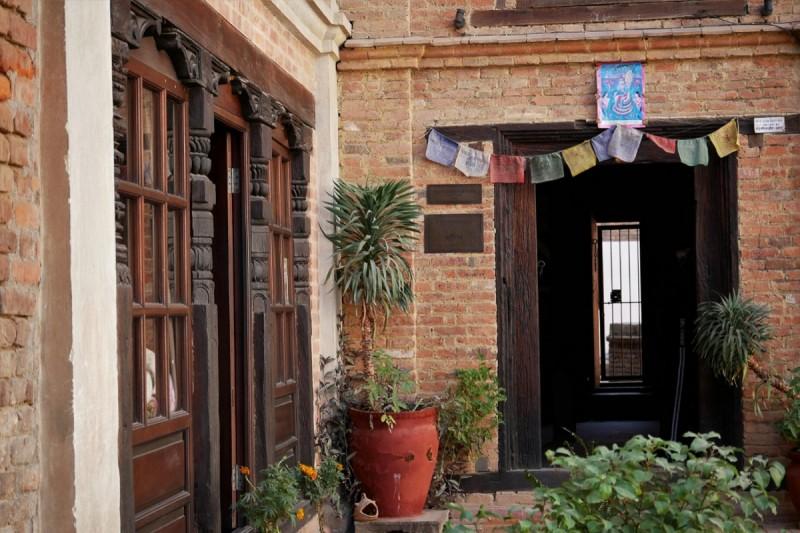 Séjour à Patan au Népal