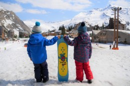 snowboard adapté aux enfants