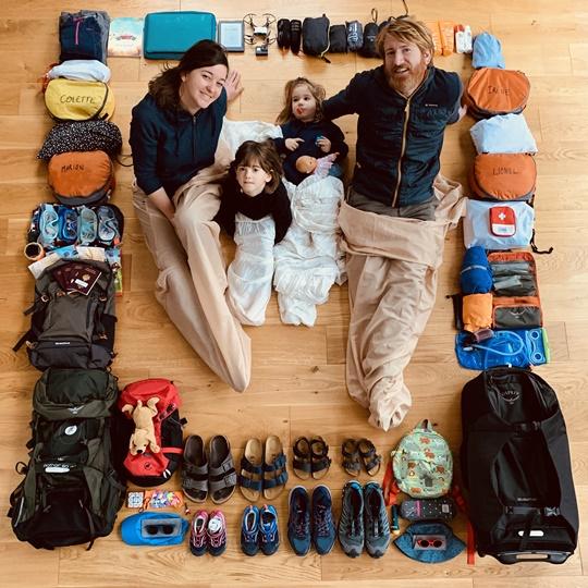 budget pour un tour du monde en famille