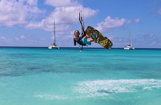 kitesurf Dacaluf voilier en famille