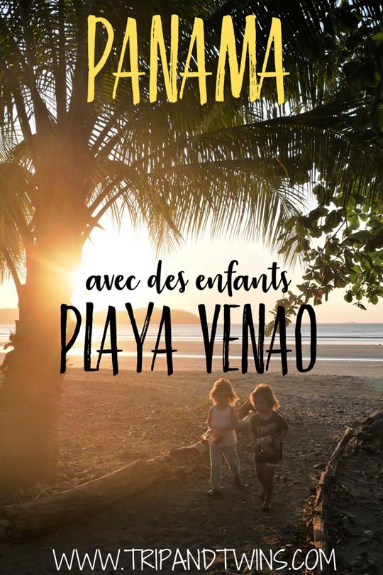 panama - playa venao avec des enfants