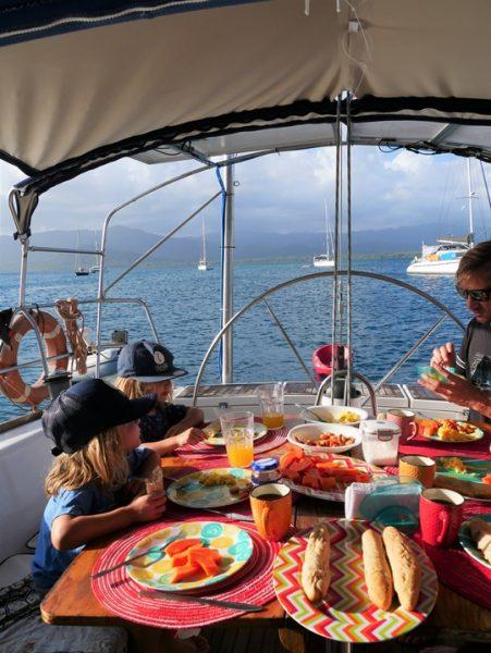 iles san blas en famille et en voilier