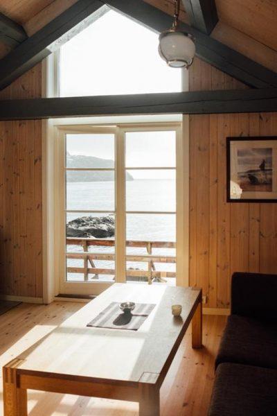logement nusfjord lofoten norvege