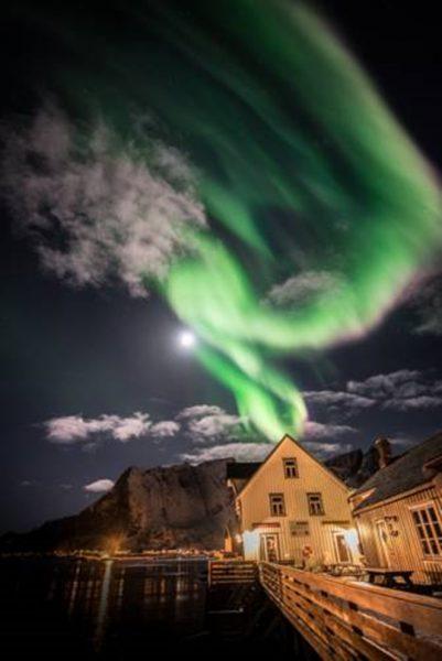 logement reine lofoten norvege