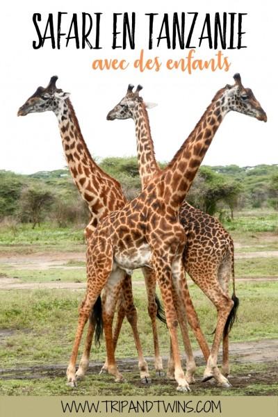 safari en Tanzanie avec des enfants